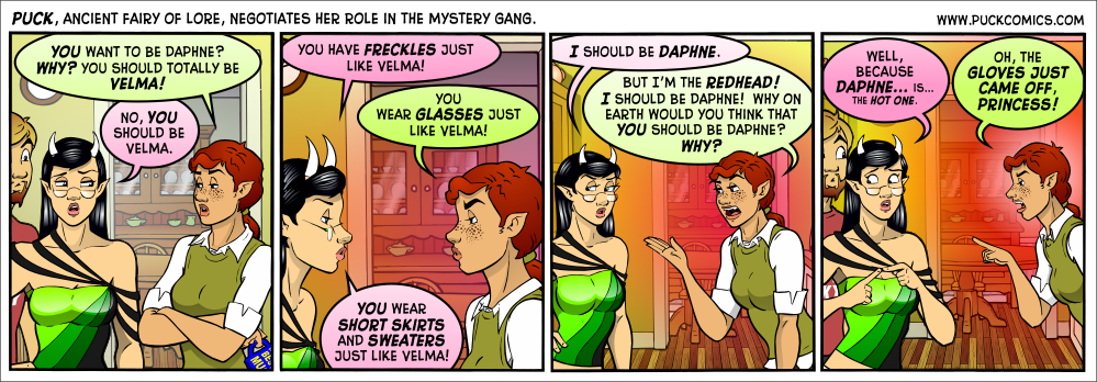 Uh, actually, I always thought Velma was the hot one.  (See, internet?  I beat you to it.)